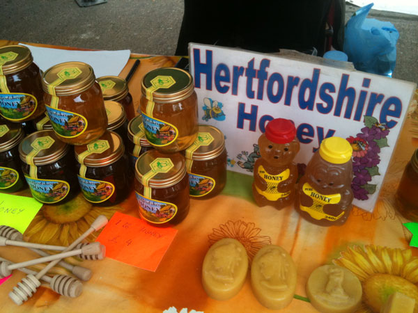 Honey from Hertfordshire Honey in Benington